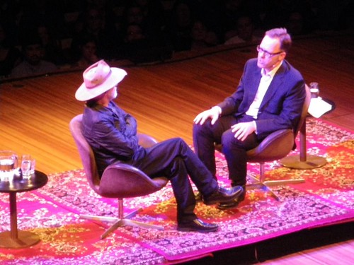 Terry Pratchett and Garth Nix