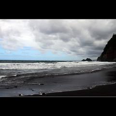 that ocean is not silent (1crzqbn) Tags: ocean sunlight seascape color nature blacksand hawaii waves shadows stormy 7d shining cityart blackandblue coth simplybeautiful rockpaper artdigital contemporaryartsociety daarklands magicunicornverybest galleryofdreams trolledproud exoticimage 1crzqbn polulobeach to