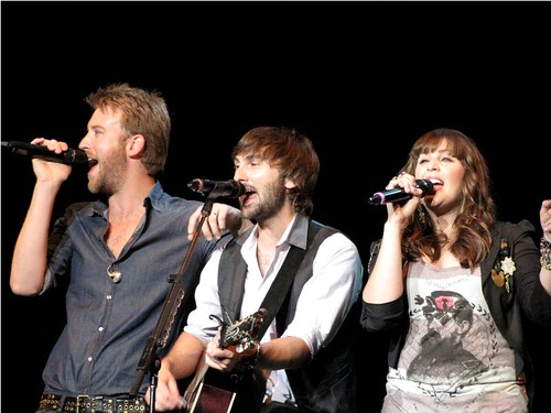 Lady Antebellum - Charles, Dave, Hilary by jeaneeem, on Flickr