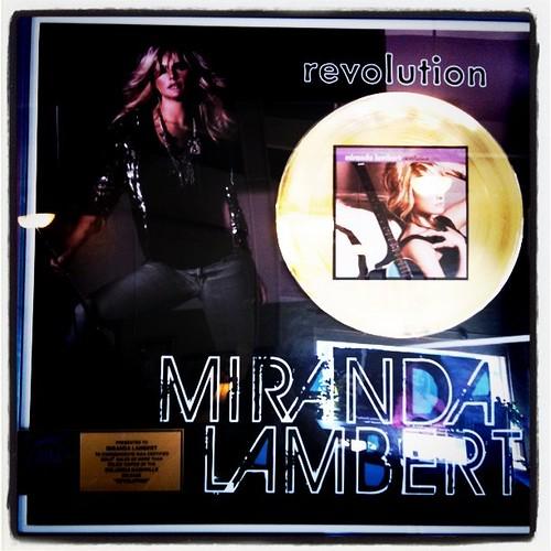 Miranda Lambert - Gold Sales Album