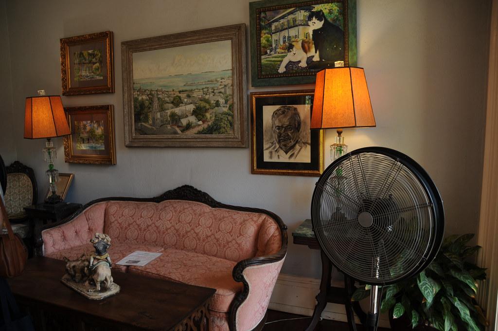 Hemingway's home in Key West ~