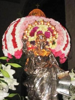Festa della Madonna della Lettera foto tratta dal sito http://www.isolainfesta.it/smariadellalettera2006-messina.htm