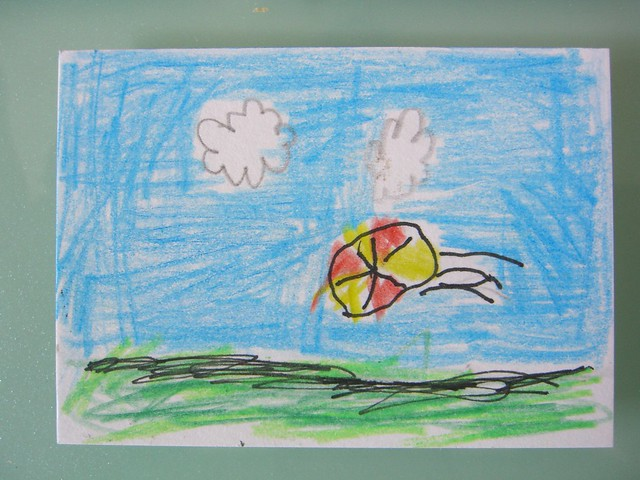 The Ball by Luca (age 6)