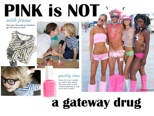 Pink is NOT a gateway drug