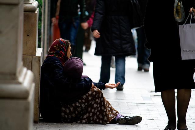athens - beggar