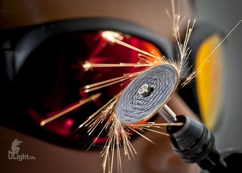 composite product sparks grinder tt5 tt1 pocketwizard 580exii canon5dmk2 ef100mmf28lis
