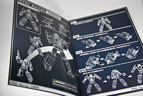iGear's PP-01: Faith Leader aka Optimus Prime
