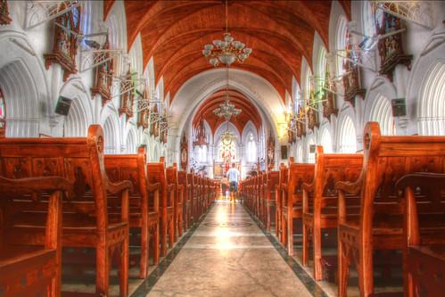 [フリー画像] 建築・建造物, 教会・聖堂・モスク, HDR, インド, 201104250100