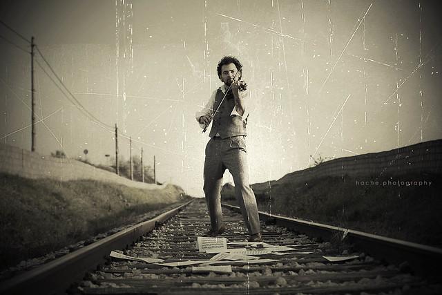 Yo quise componer la melodía de tu vida ...