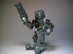 UNSC hardsuit (mechbuilder) Tags: grey photo energy halo grenades blade custom mech hardsuit
