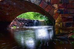 Bailey Falls Through Davies Arch Bridge (jball359) Tags: statepark canon waterfall kodak