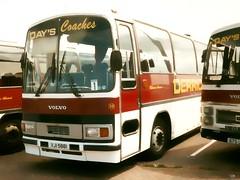 Twelve Days in Blackpool: Day 2 (quicksilver coaches) Tags: volvo days blackpool viewmaster rotherham b58 plaxton kilnhurst ojy578s vji5881