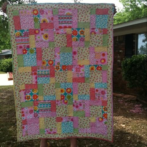 Ada's quilt front