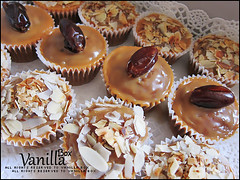 Dates Cupcake (vanillabox) Tags: cupcake dates toffee