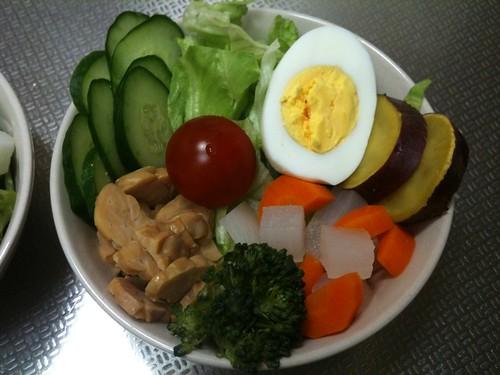 朝食サラダ(2011/4/26)