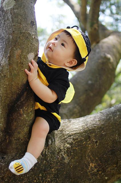 Baby Marcus Trip to Victoria Peak