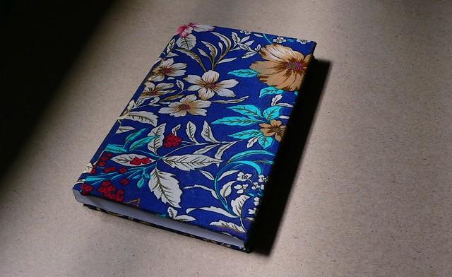 sổ nhỏ, bìa bọc vải hoa