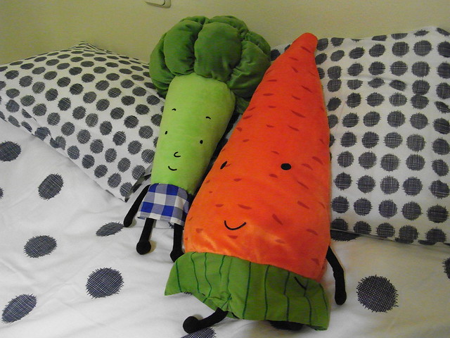Mr. Broccoli and Mrs. Carrot