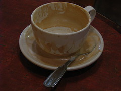 Messy Latte (davemaxfine) Tags: coffee cafe espresso latte capucino