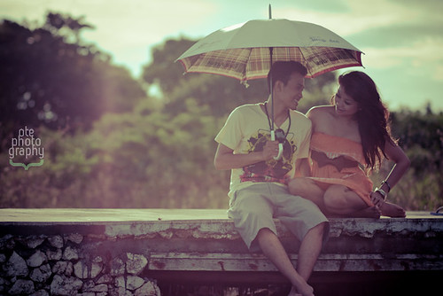 Umbrella Love by Wayan Parmana
