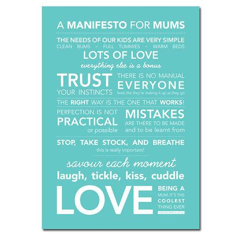 mommy manifesto via little lovely