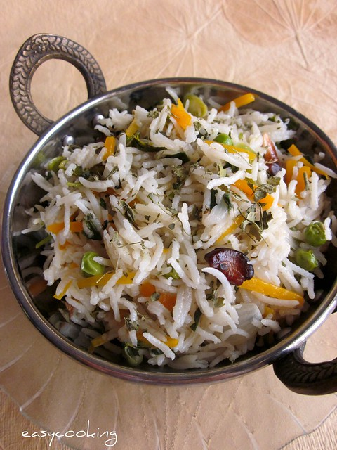 Vegetable Methi Pulao_2