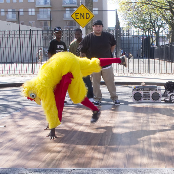 Dancing Chicken, Brooklyn