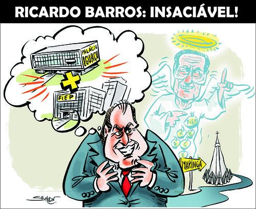 Charge Ricardo Barros