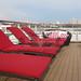 Sun deck onboard l'Boreal