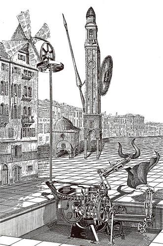 Place Cervantes: La centrale eolienne de tauromachie