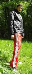 IMGP0446 (Karhu1) Tags: snow shiny suit glossy sweat nylon spandex sauna rainwear pvc leggings snowsuit overall