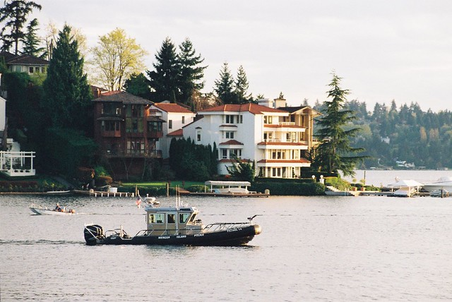 Mercer Island Police Boat