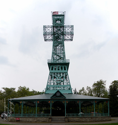 Andreaskreuz im Harz