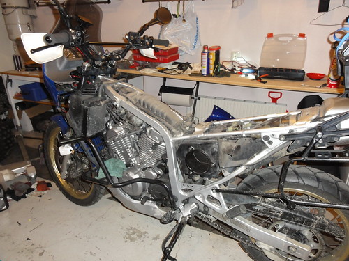 Bike stripped