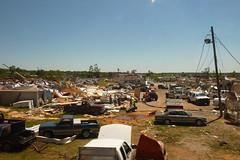 levelled (skippy haha) Tags: train destruction neworleans alabama crescent amtrak tuscaloosa damage jazzfest tornado skippyhaha