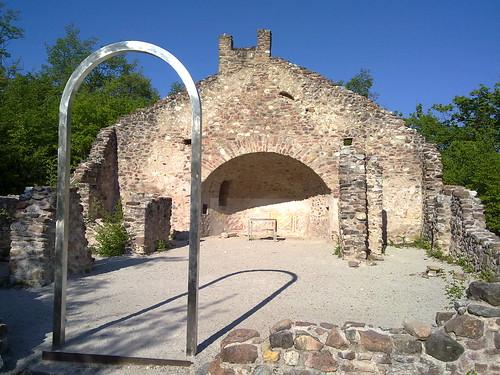 Frühchristliche Kapelle St. Peter bei Altenburg in Kaltern