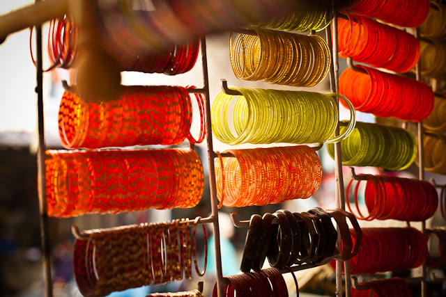 Bangle store in India