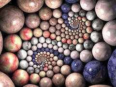 Marble Vertigo (fdecomite) Tags: stone spiral math doyle chosen povray