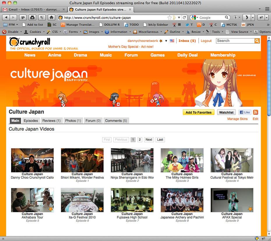 Culture Japan Season 1 on Crunchy Roll