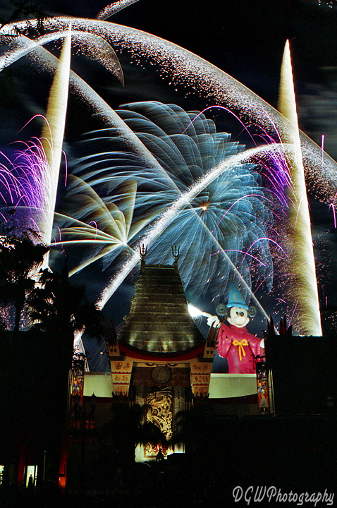 Fireworks Over Disney-MGM Chinese Theater