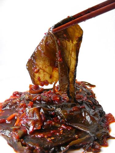 Sesam blad kimchi