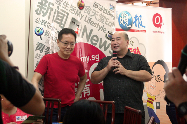 Alan with the boss of Huat Kee