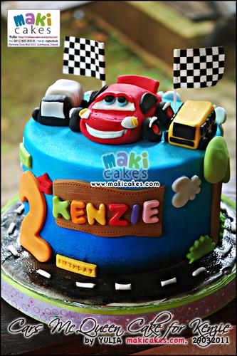 Cars McQueen Cake for Kenzie - Maki Cakes