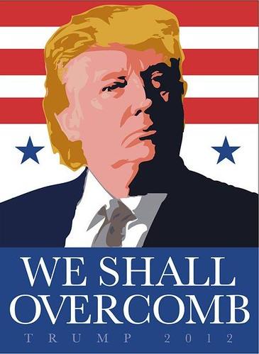 Trumps campaign poster?