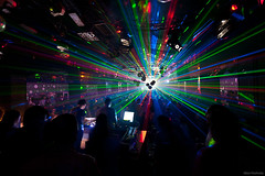 Lasers at Daluz Club, Kozani [explored] (Nick-K (Nikos Koutoulas)) Tags: party house festival club greek dance mix nikon live nikos greece event laser techno partypics f4 vr cdj nickk 1635mm  daluz kozani   d700   koutoulas  electrotrance