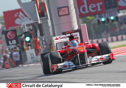 Alonso GP España F1 Montmeló