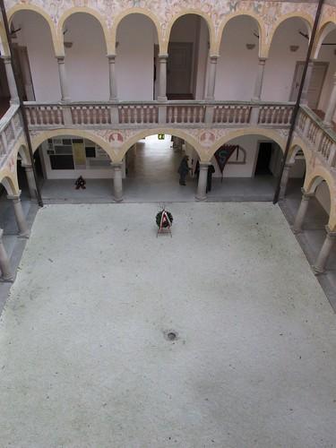 Patio del castillo de Hartheim