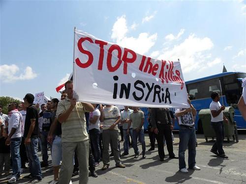 إئتلاف الثورة السورية فرع قبرص - 20-05-2011 / CYPRUS