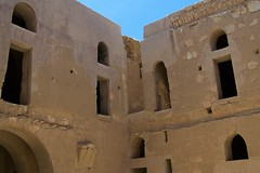 Desert Castle - Qasr Kharana (LandLopers.com) Tags: redsea wadirum petra amman jordan camels deadsea jerash aqaba wadirumdesert desertcastles mainjordan