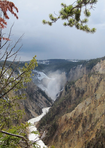 Inspiration Point, Yellowstone National Park, Wyoming.